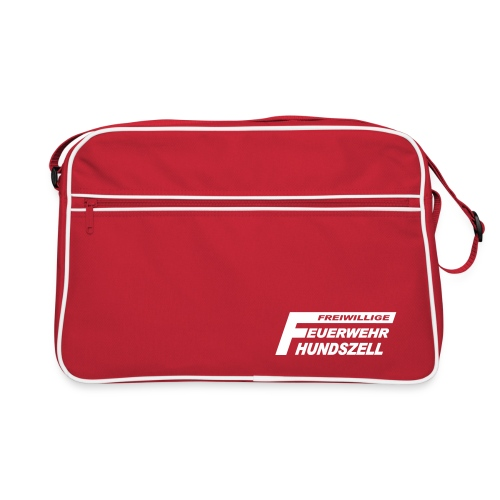 FFHZ rot - Retro Tasche