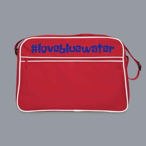 #lovebluewater - Retro Tasche