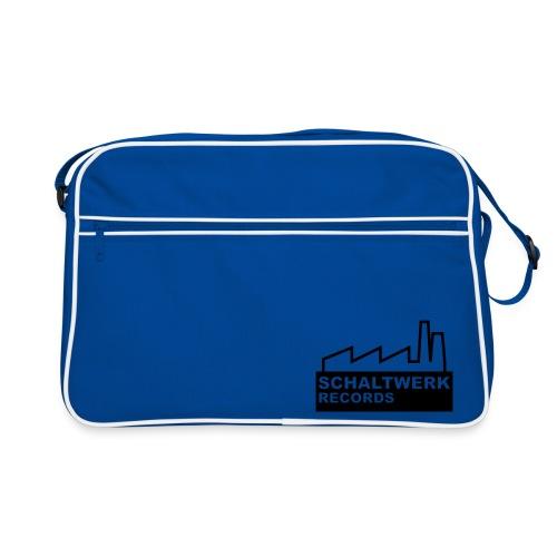 schaltwerk logo orginal - Retro Tasche