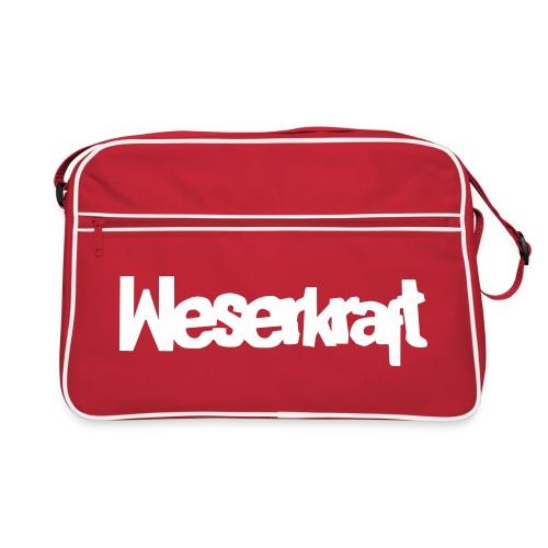 Weserkraft Logo - Retro Tasche