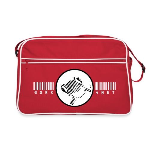 barcodefrosch3 - Retro Tasche