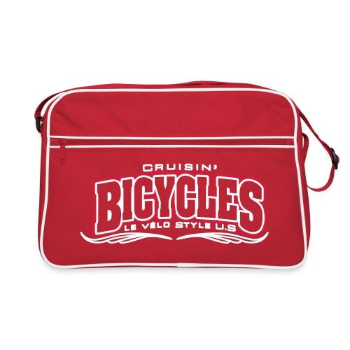 logo cruisin bicycles chris3 - Sac Retro