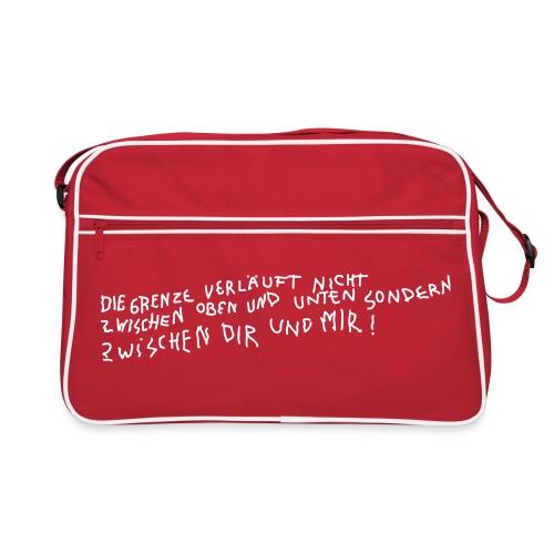 Graffiti: Zwischen Dir und Mir - Retro Tasche