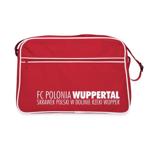 FC Polonia Slogan - Retro Tasche