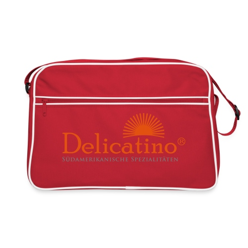 Delicatino Logo - Retro Tasche