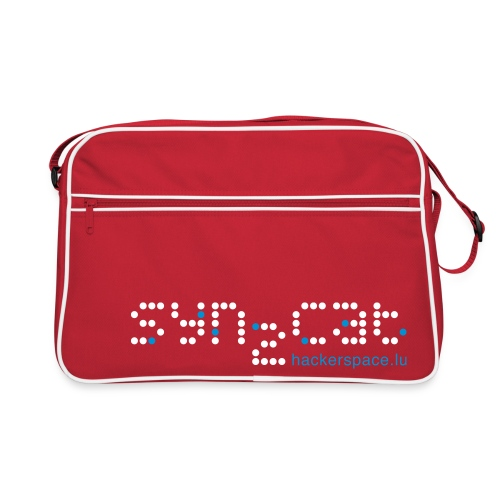 Schwarz/weiß HaxoGreen one Taschen - Retro Bag