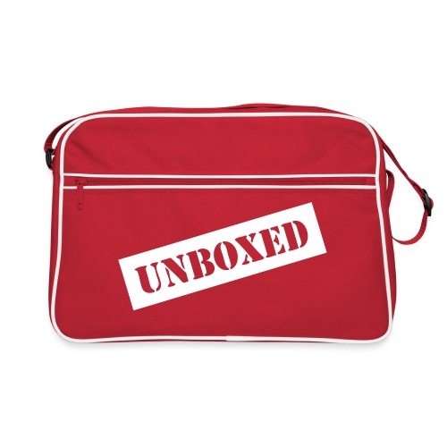 Get UNBOXED now!! by Brilliant Voices - Retro Tasche