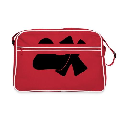 Ente mit X v3 3 klein - Retro Tasche