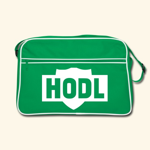 HODL TO THE MOON - Retrolaukku