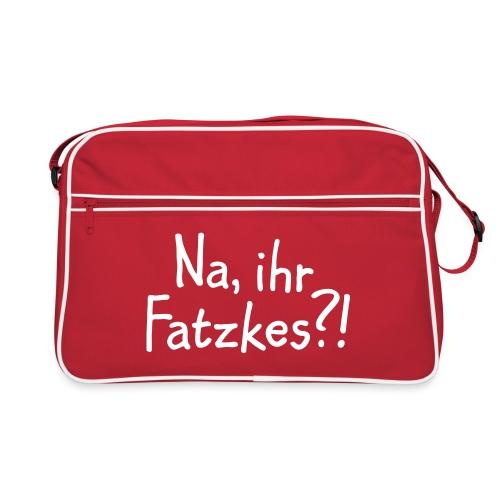 Na, ihr Fatzkes? - Berliner Schnauze aus Berlin - Retro Tasche