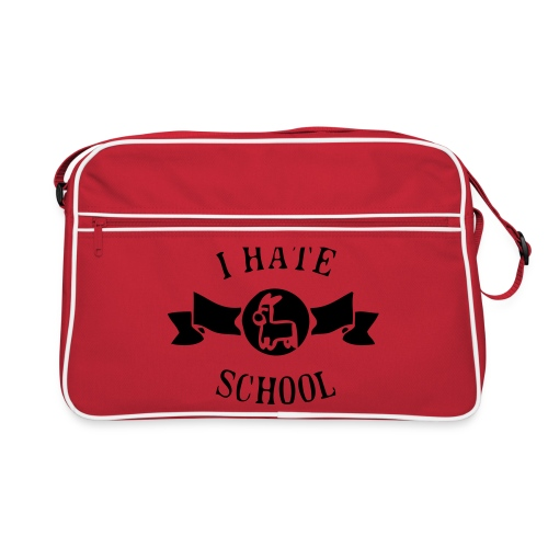 I Hate School - Retro Bag