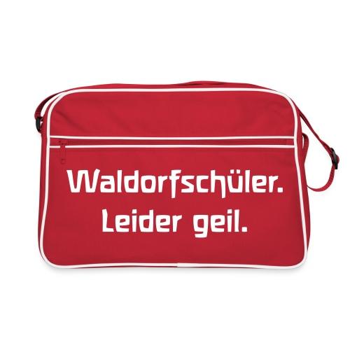 Waldorfschüler Leider geil - Retro Tasche