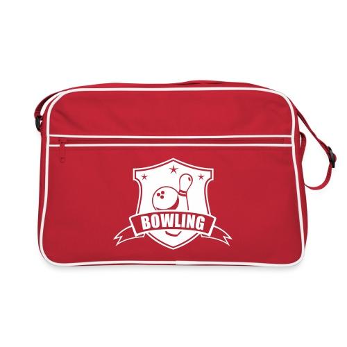 bowlingwappen - Retro Tasche