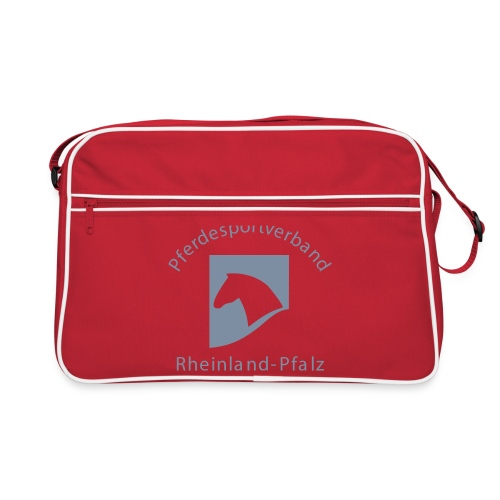 psv rp logo einfarbig - Retro Tasche