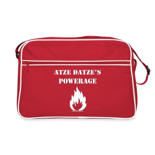 Atze Datze Logo - Retro Tasche