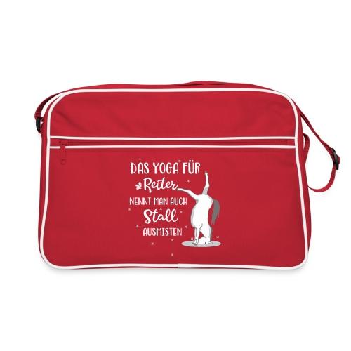 Sicherungskopie von Yoga Pferd Stall ausmisten - Retro Tasche