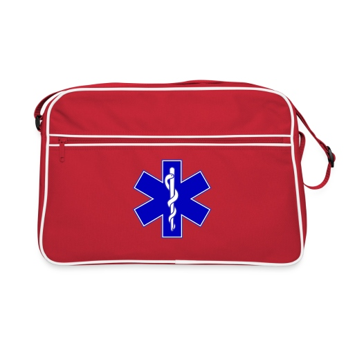2000px Star of life2 svg png - Borsa retrò