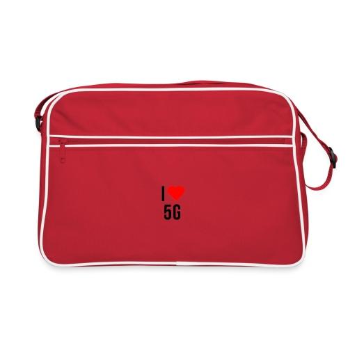 ilove5g - Retro Tasche