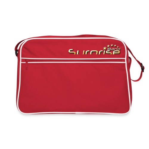Surprise Band Logo Gold - Retro Tasche