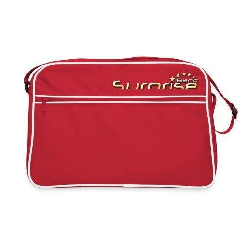 Surprise Band Logo Gold - Retro Tasche