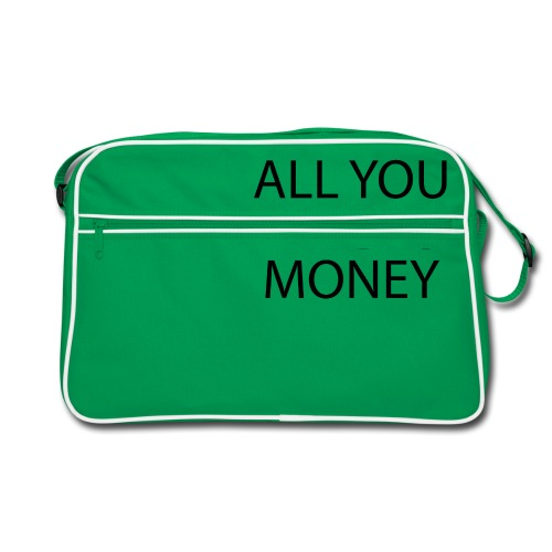All you need is Money - Retro veske
