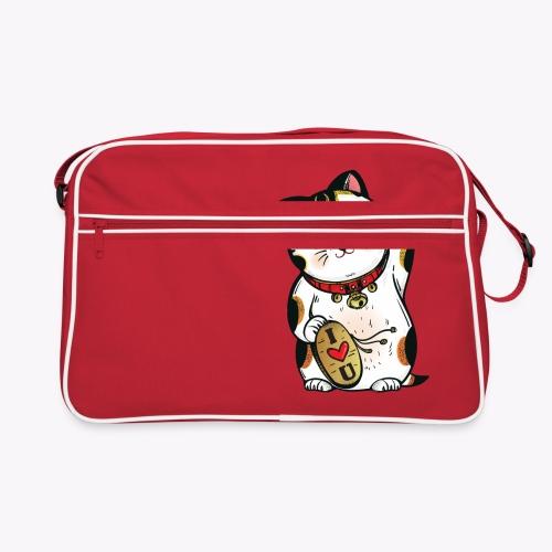 Love Lucky Cat - Retro Bag