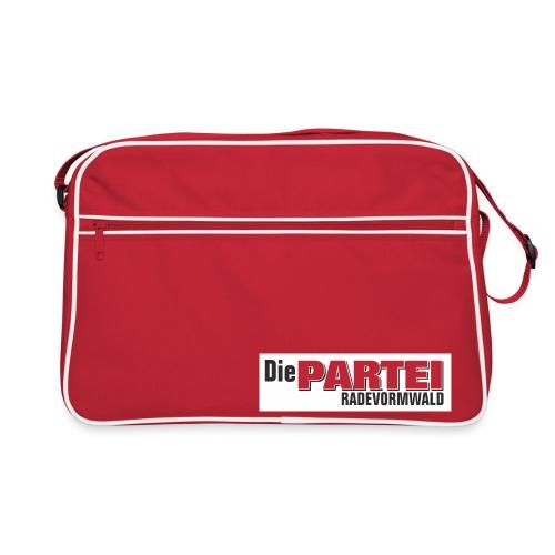ParteiRadeGroß png - Retro Tasche