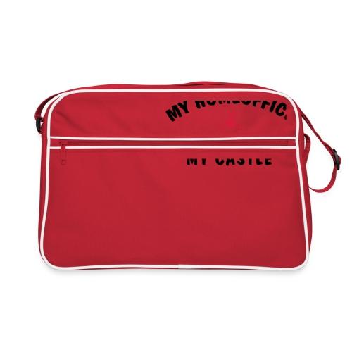 MY HOMEOFFICE MY CASTLE - Retro Tasche