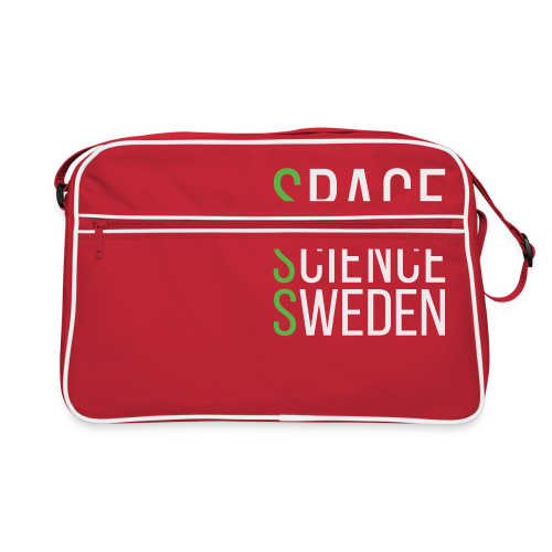 Space Science Sweden - vit - Retroväska