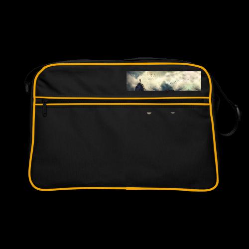 geweihbär Vogelfrei 3 - Retro Tasche