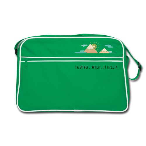 young.wild.tabler - Retro Tasche