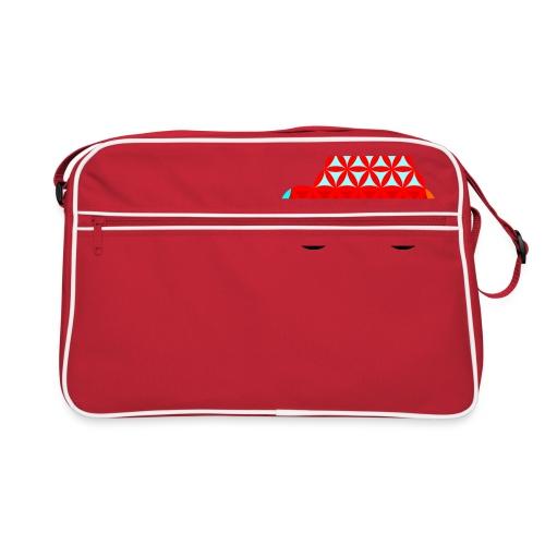 The Car Of Life - M01, Sacred Shapes, Red/R01. - Retro Bag