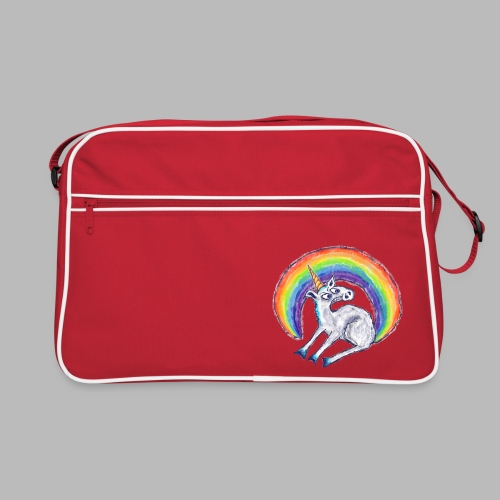 Reluctant Rainbow - Retro Bag