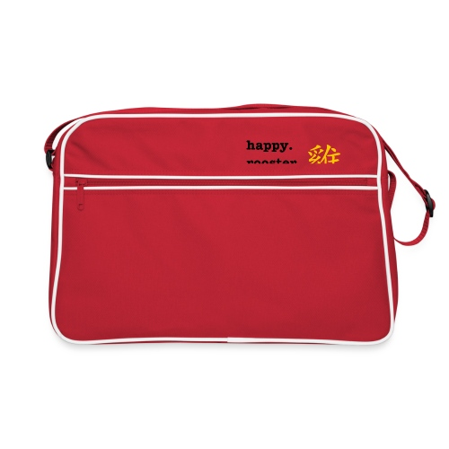 happy rooster year - Retro Bag