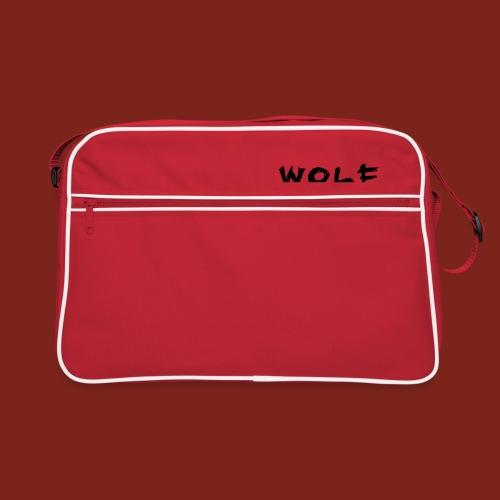 Wolf Font png - Retro-tas