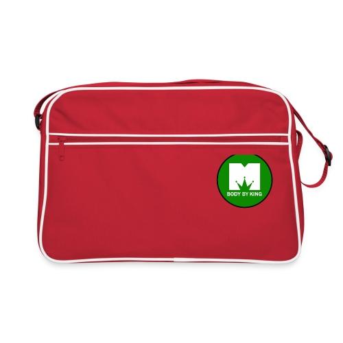 BodyByKing Green - Retro Bag