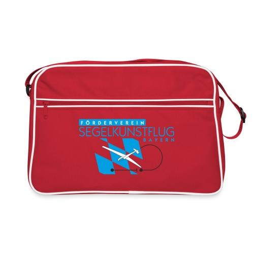Design 01 (2-facher Druck vorne und hinten) - Retro Tasche