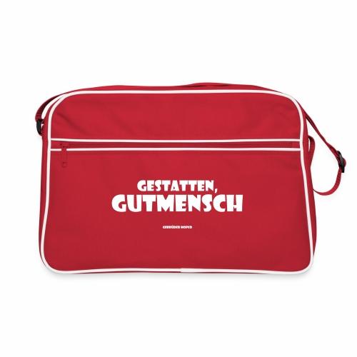 Gestatten Gutmensch - Retro Tasche