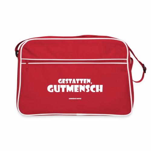 Gutmensch - Retro Tasche