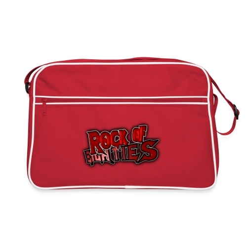 rock of 80 s logo png - Retro Bag