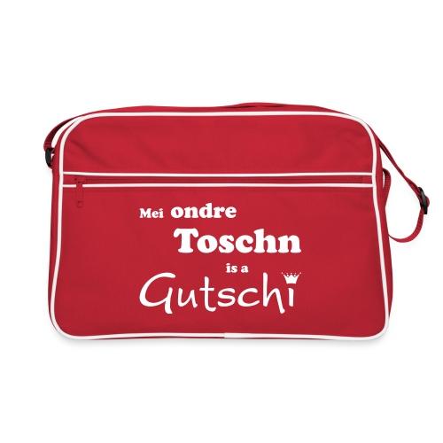 Mei ondre Toschn is a Gutschi - Retro Tasche