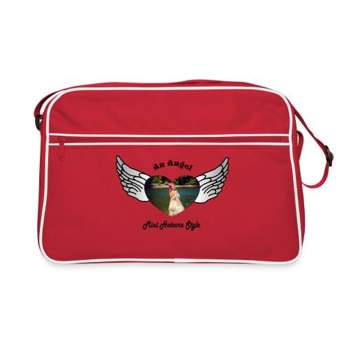 An Angel bunt - Retro Tasche