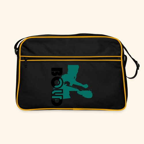 BOLD, table tennis championship ideal gift - Retro Tasche
