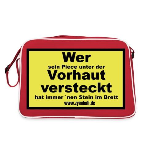 wer_sein_piece - Retro Tasche