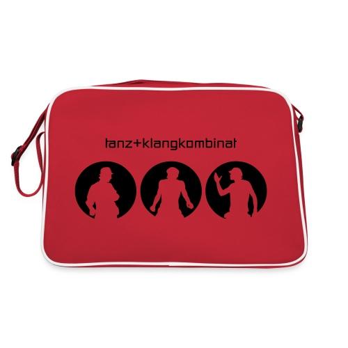 tanzklangkombinatlogo - Retro Tasche