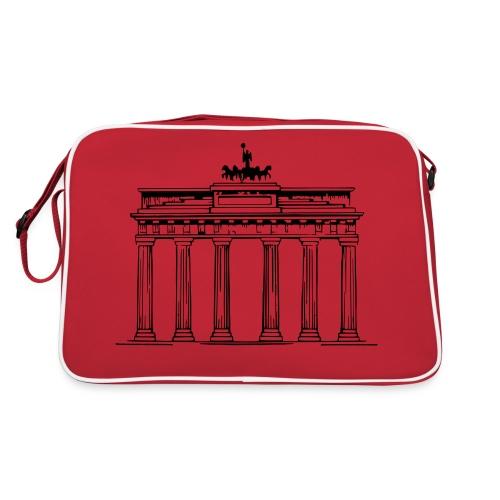 Brandenburger Tor Berlin Victoria Streitwagen - Retro Tasche