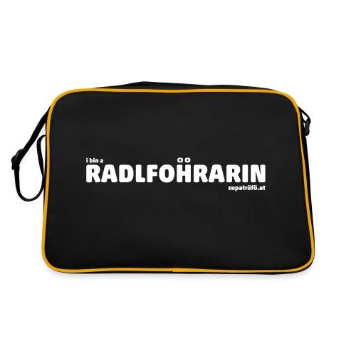 supatrüfö radlfohrarin - Retro Tasche