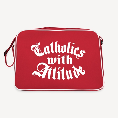 Catholics With Attitude - Retro Bag