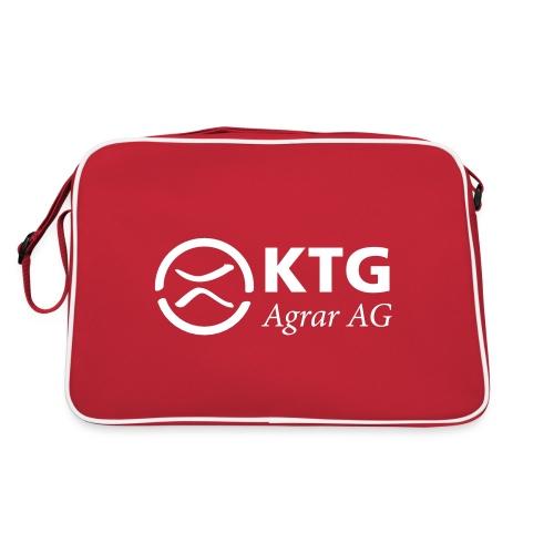 KTG Logo Weiss Vektor - Retro Tasche