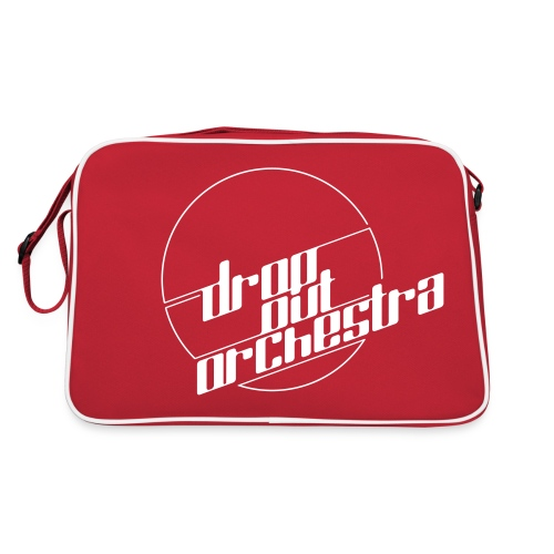 Drop Out Orchestra logo - Retro Bag